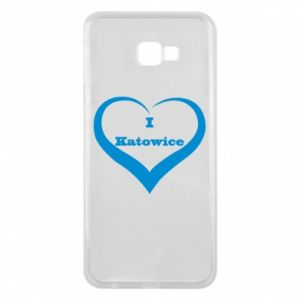 Phone case for Samsung J4 Plus 2018 I love Katowice