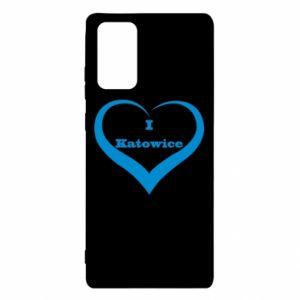 Etui na Samsung Note 20 I love Katowice