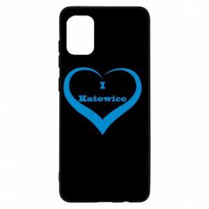 Etui na Samsung A31 I love Katowice