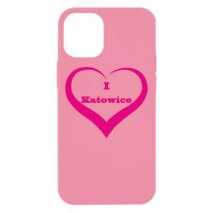 Etui na iPhone 12 Mini I love Katowice
