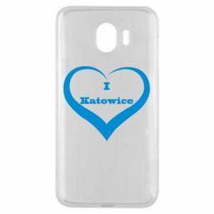 Etui na Samsung J4 I love Katowice - PrintSalon