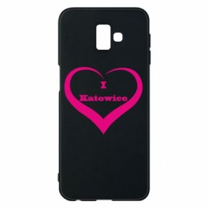 Phone case for Samsung J6 Plus 2018 I love Katowice