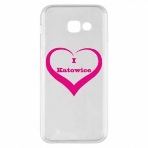 Phone case for Samsung A5 2017 I love Katowice
