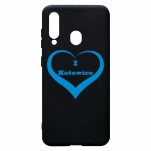 Phone case for Samsung A60 I love Katowice