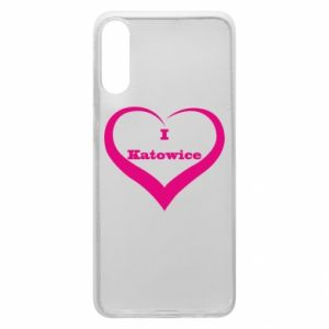 Phone case for Samsung A70 I love Katowice