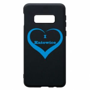 Etui na Samsung S10e I love Katowice - PrintSalon