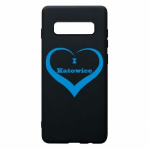 Phone case for Samsung S10+ I love Katowice