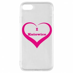 Phone case for iPhone 7 I love Katowice