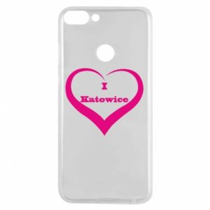 Phone case for Huawei P Smart I love Katowice