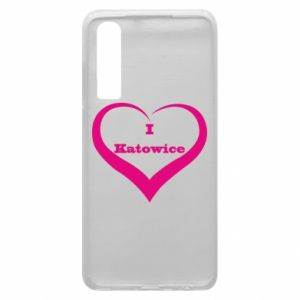 Phone case for Huawei P30 I love Katowice