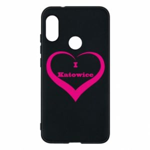 Phone case for Mi A2 Lite I love Katowice