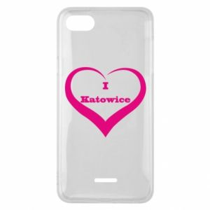 Phone case for Xiaomi Redmi 6A I love Katowice