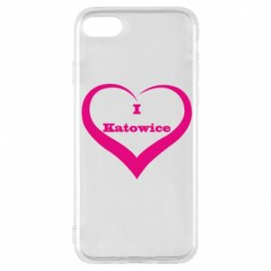 Phone case for iPhone 8 I love Katowice