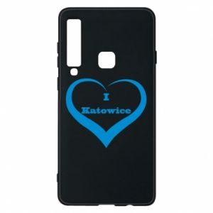 Phone case for Samsung A9 2018 I love Katowice
