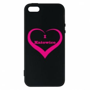 Phone case for iPhone 5/5S/SE I love Katowice