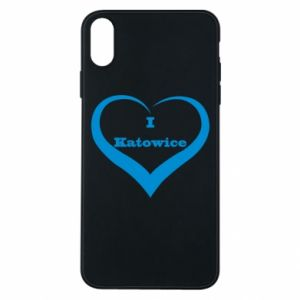 Phone case for iPhone Xs Max I love Katowice