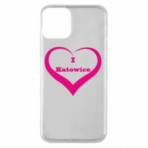 Phone case for iPhone 11 I love Katowice