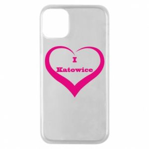 Phone case for iPhone 11 Pro I love Katowice