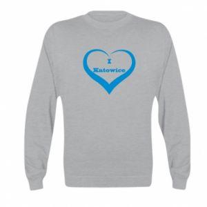 Kid's sweatshirt I love Katowice