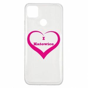 Xiaomi Redmi 9c Case I love Katowice