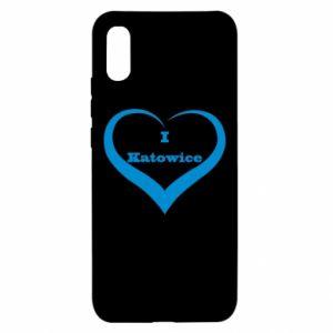 Xiaomi Redmi 9a Case I love Katowice