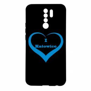 Xiaomi Redmi 9 Case I love Katowice
