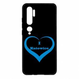 Xiaomi Mi Note 10 Case I love Katowice