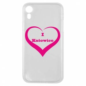 Phone case for iPhone XR I love Katowice