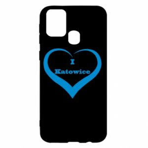 Samsung M31 Case I love Katowice