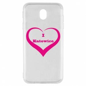 Samsung J7 2017 Case I love Katowice