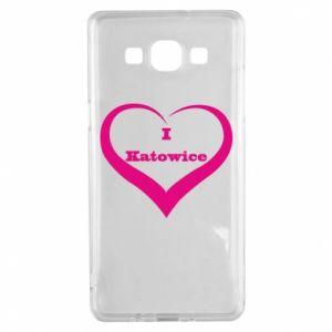 Samsung A5 2015 Case I love Katowice