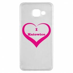 Samsung A3 2016 Case I love Katowice