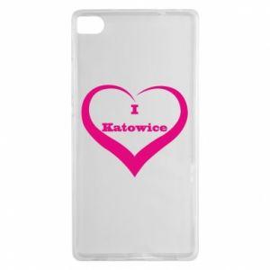 Huawei P8 Case I love Katowice