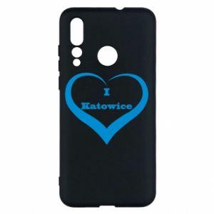 Huawei Nova 4 Case I love Katowice