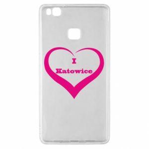 Huawei P9 Lite Case I love Katowice