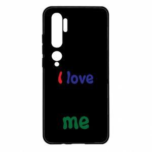 Xiaomi Mi Note 10 Case I love me. Color