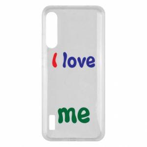 Xiaomi Mi A3 Case I love me. Color