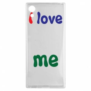 Sony Xperia XA1 Case I love me. Color