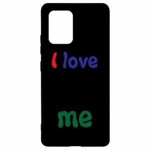 Samsung S10 Lite Case I love me. Color