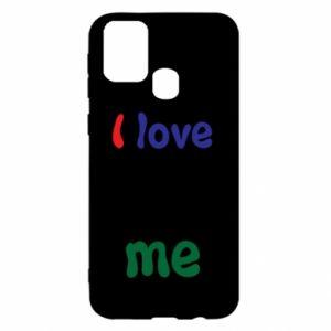 Samsung M31 Case I love me. Color