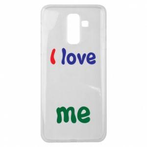 Samsung J8 2018 Case I love me. Color