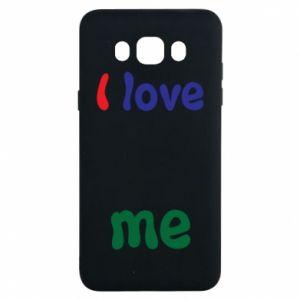 Samsung J7 2016 Case I love me. Color