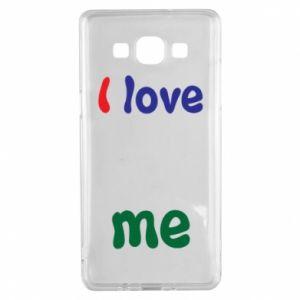 Samsung A5 2015 Case I love me. Color