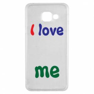 Samsung A3 2016 Case I love me. Color