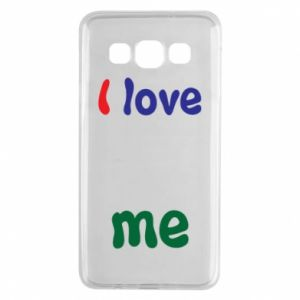 Samsung A3 2015 Case I love me. Color