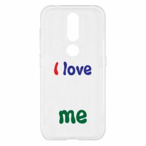 Nokia 4.2 Case I love me. Color