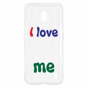 Nokia 2.2 Case I love me. Color