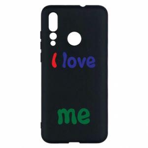 Huawei Nova 4 Case I love me. Color
