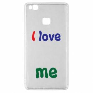 Huawei P9 Lite Case I love me. Color