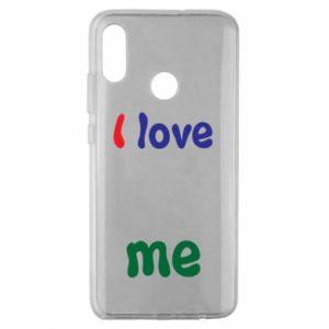 Huawei Honor 10 Lite Case I love me. Color
